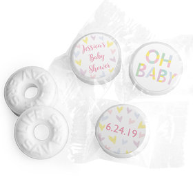 Personalized Bonnie Marcus Baby Shower Pastel Shower Life Savers Mints
