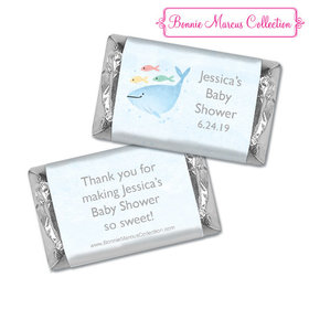 Personalized Bonnie Marcus Under the Sea Shower Hershey's Miniatures