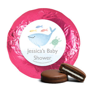 Personalized Bonnie Marcus Under the Sea Baby Shower Milk Chocolate Covered Oreos