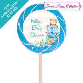 "Bonnie Marcus Collection Personalized 3"" Swirly Pop - Favors Story Time(12 Pack)"