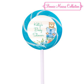 Bonnie Marcus Collection Personalized Small Swirly Pop   Favors Story Time  (24 Pack)