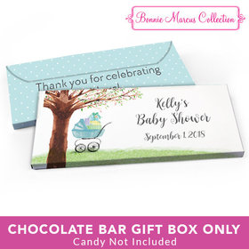 Deluxe Personalized Baby Shower Rockabye Baby Candy Bar Favor Box