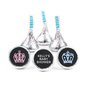 Personalized Bonnie Marcus Baby Shower Princess or Prince Hershey's Kisses (50 pack)