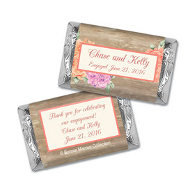 Bonnie Marcus Collection Mini Candy Bar Wrapper Blooming Joy Engagement Announcement