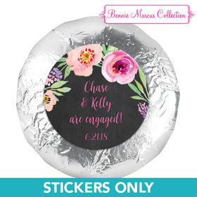 """Bonnie Marcus Collection Wedding Engagement Party Favors 1.25"""" Stickers (48 Stickers)"""