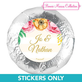 """Personalized Engagement Stripes 1.25"""" Stickers (48 Stickers)"""