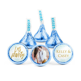 Personalized Bonnie Marcus Engagement Champagne Party Hershey's Kisses (50 pack)