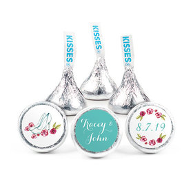 Personalized Bonnie Marcus Engagement Chic Couple Hershey's Kisses (50 pack)