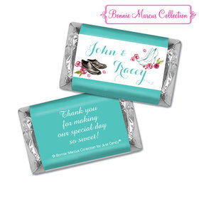 Personalized Bonnie Marcus Engagement Chic Wedding Couple Hershey's Miniatures