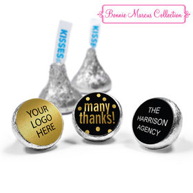 Personalized Bonnie Marcus Business Many Thanks Hershey's Kisses (50 Pack)