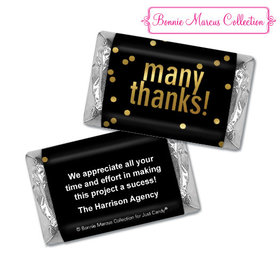 Personalized Bonnie Marcus Business Many Thanks Hershey's Miniatures