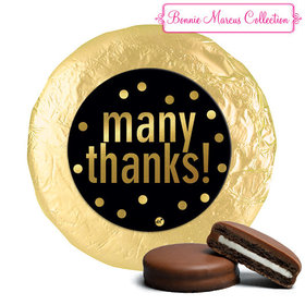 Personalized Bonnie Marcus Business Many Thanks Chocolate Covered Oreos (24 Pack)