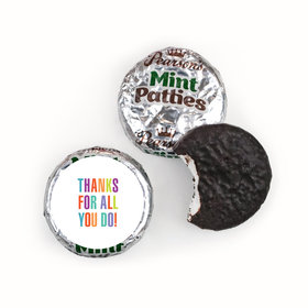 Personalized Bonnie Marcus Business Thank you Stripes Pearson's Mint Patties