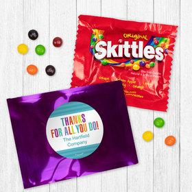 Personalized Business Thank You Stripes Skittles