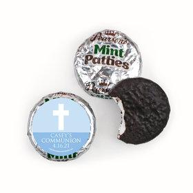 Personalized Boy First Communion Religious Symbols Pearson's Mint Patties