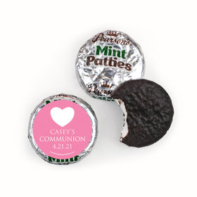 Personalized Girl First Communion Religious Symbols Pearson's Mint Patties