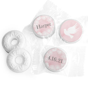 Personalized Girl First Communion Darling Roses Life Savers Mints