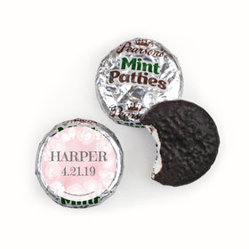 Personalized Girl First Communion Darling Roses Pearson's Mint Patties