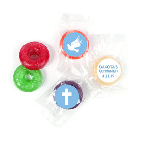 Personalized Boy First Communion Religious Icons Life Savers 5 Flavor Hard Candy