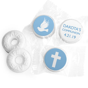 Personalized Boy First Communion Religious Icons Life Savers Mints