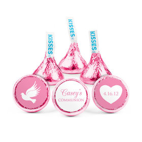 Personalized Bonnie Marcus Girl First Communion Religious Icons Hershey's Kisses (50 pack)