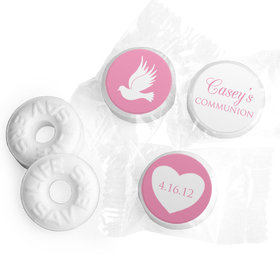 Personalized Girl First Communion Religious Icons Life Savers Mints