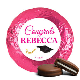 Personalized Bonnie Marcus Gorgeous Grad Blonde Milk Chocolate Covered Oreos