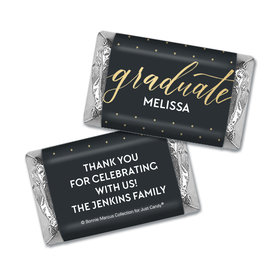 Personalized Bonnie Marcus Classy Graduation Mini Wrappers