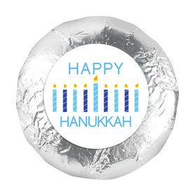 "Bonnie Marcus Hanukkah Candles 1.25"" Stickers (48 Stickers)"
