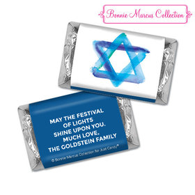 Personalized Bonnie Marcus Hanukkah Star of David Hershey's Miniatures