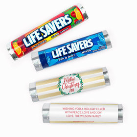 Personalized Bonnie Marcus A Chic Christmas Lifesavers Rolls (20 Rolls)