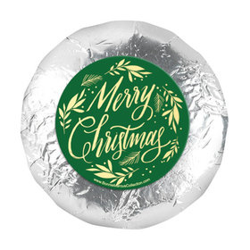 """Bonnie Marcus Christmas Festive Leaves 1.25"""" Stickers (48 Stickers)"""