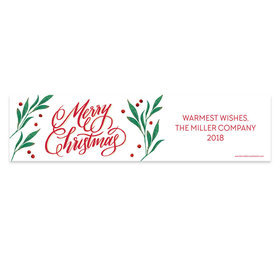 Personalized Bonnie Marcus Christmas Holly-day Joy 5 Ft. Banner