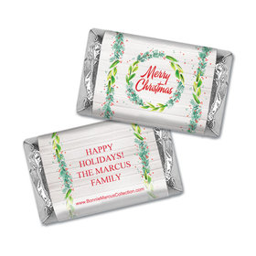 Personalized Bonnie Marcus Christmas Festive Foliage Mini Wrappers Only