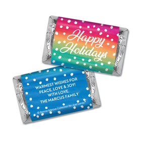 Personalized Bonnie Marcus Christmas Holiday Magic Hershey's Miniatures