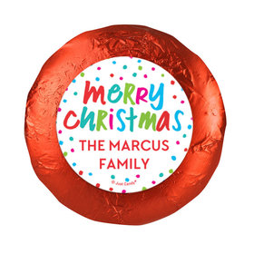 Personalized Bonnie Marcus Christmas Polkadot Party Chocolate Covered Oreos