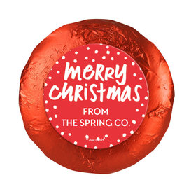 Personalized Bonnie Marcus Christmas Jolly Red Chocolate Covered Oreos