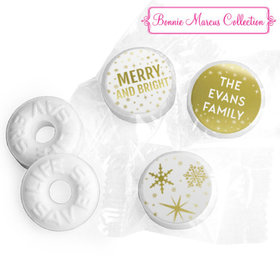 Personalized Bonnie Marcus Christmas Glitter Life Savers Mints