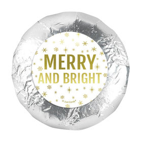 """Bonnie Marcus Christmas Merry & Bright 1.25"""" Stickers (48 Stickers)"""