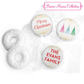 Personalized Bonnie Marcus Christmas Shimmering Pines Life Savers Mints