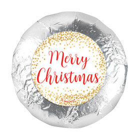 """Bonnie Marcus Christmas Shimmering Pines 1.25"""" Stickers (48 Stickers)"""