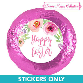 "Bonnie Marcus Collection Easter Pink Flowers 1.25"" Stickers (48 Stickers)"
