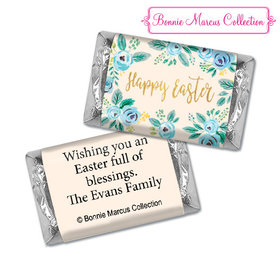 Bonnie Marcus Collection Easter Blue Flowers Hershey's Miniatures