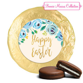 Bonnie Marcus Collection Easter Blue Flowers Milk Chocolate Covered Oreos (24 Pack)