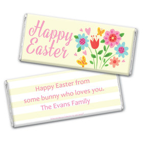 Bonnie Marcus Collection Easter Spring Flowers Chocolate Bar Wrappers