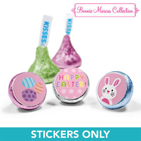 "Bonnie Marcus Collection Easter Pink Dots 3/4"" Sticker (108 Stickers)"