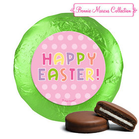 Bonnie Marcus Collection Easter Pink Dots Milk Chocolate Covered Oreos (24 Pack)