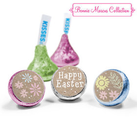 Bonnie Marcus Collection Easter Pastel Flowers Hershey's Kisses (50 Pack)