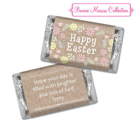 Bonnie Marcus Collection Easter Pastel Flowers Hershey's Miniatures
