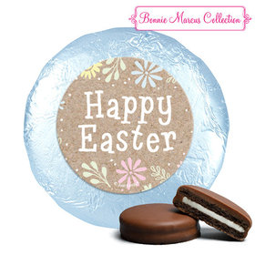 Bonnie Marcus Collection Easter Pastel Flowers Milk Chocolate Covered Oreos (24 Pack)